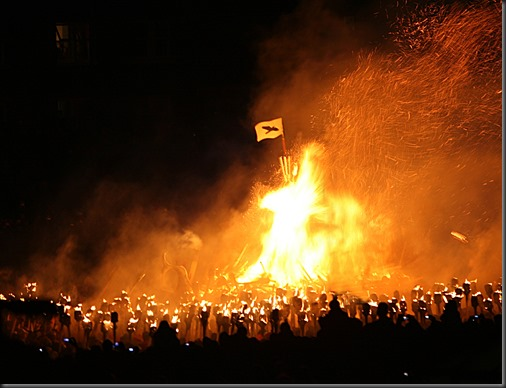 Up-Helly-aa-Torches